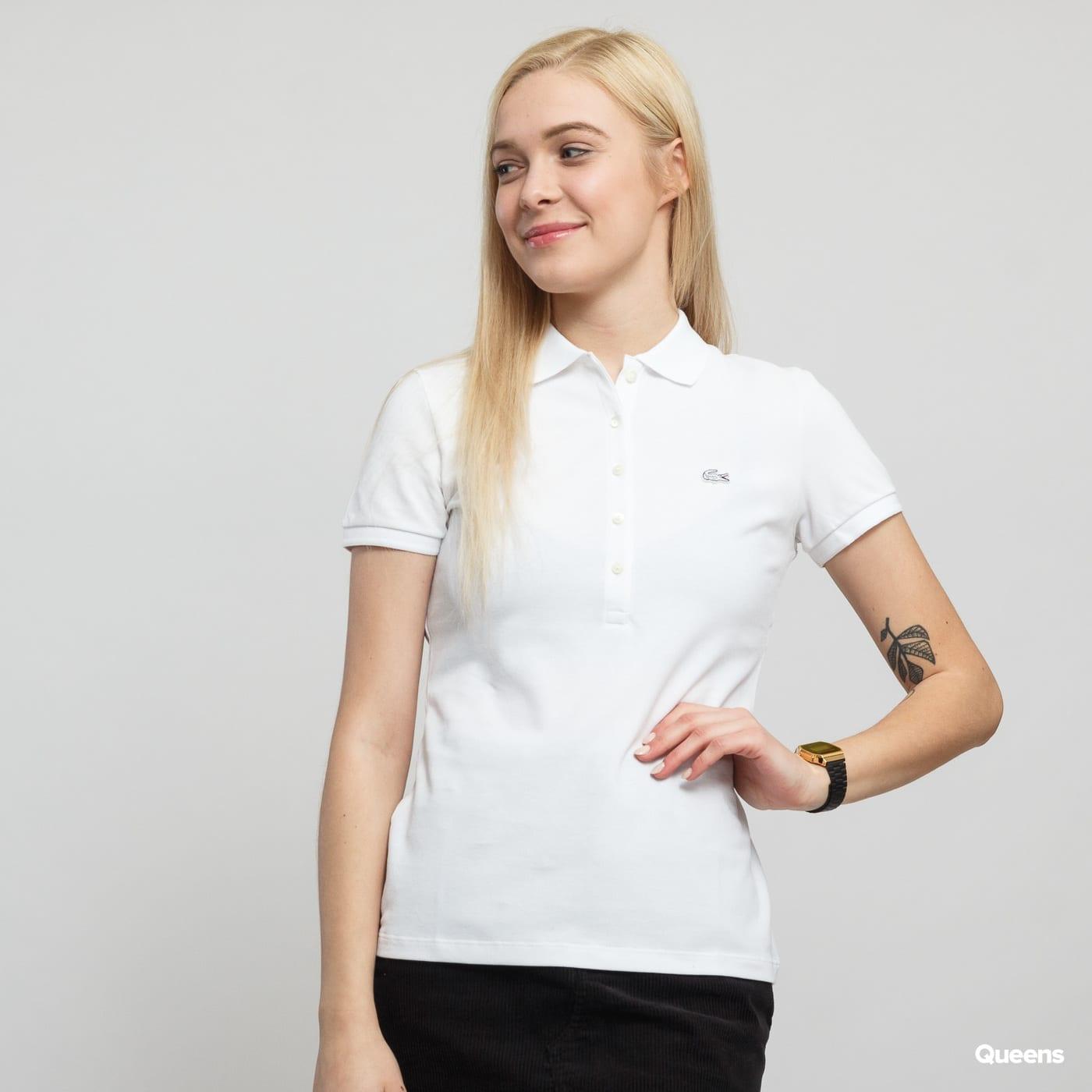 9e72ca0851 Dámske tričko LACOSTE Woman Polo Tee biele (PF7845) – Queens 💚