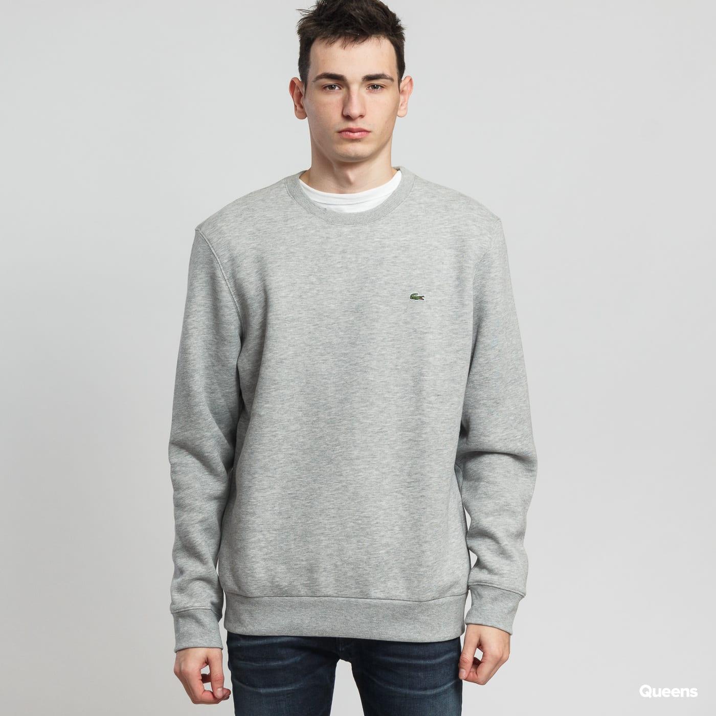 4f4fd70afa6 Mikina LACOSTE Crew Neck Cotton Fleece Sweatshirt (SH9203) – Queens 💚
