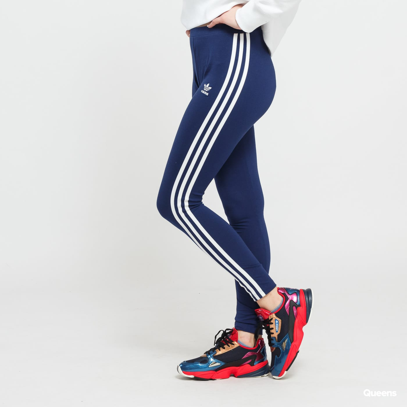 7f219df0a6e Legíny adidas Originals 3 Stripe Tight (DV2615) – Queens 💚