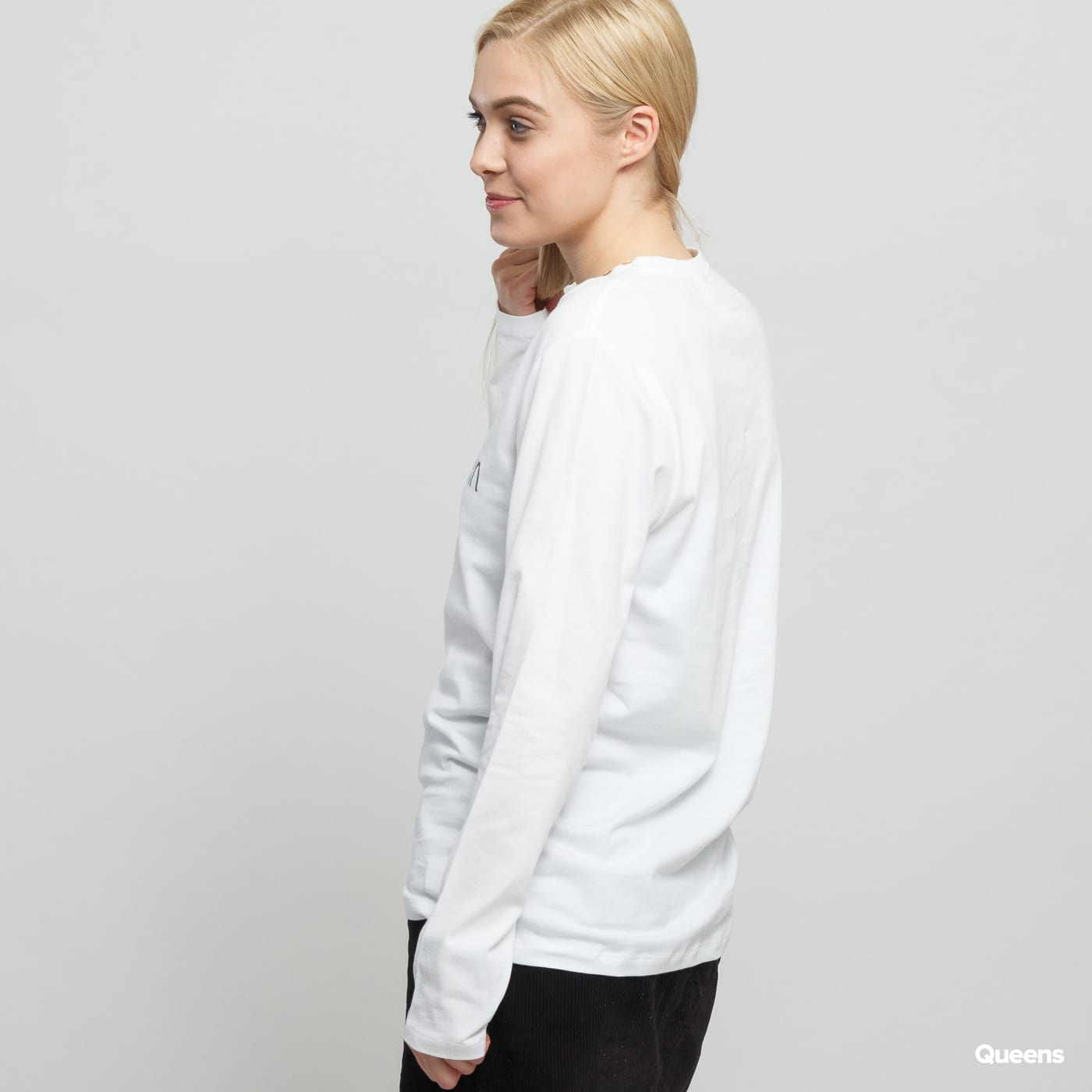 Calvin Klein LS Crew Neck C/O white