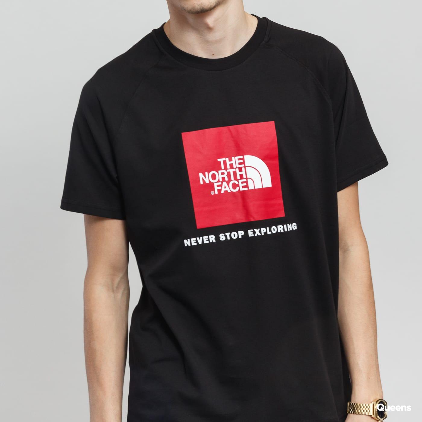 25ed7f86751 ZvětšitZvětšitZvětšitZvětšit. The North Face M SS Rag Red Box Tee černé