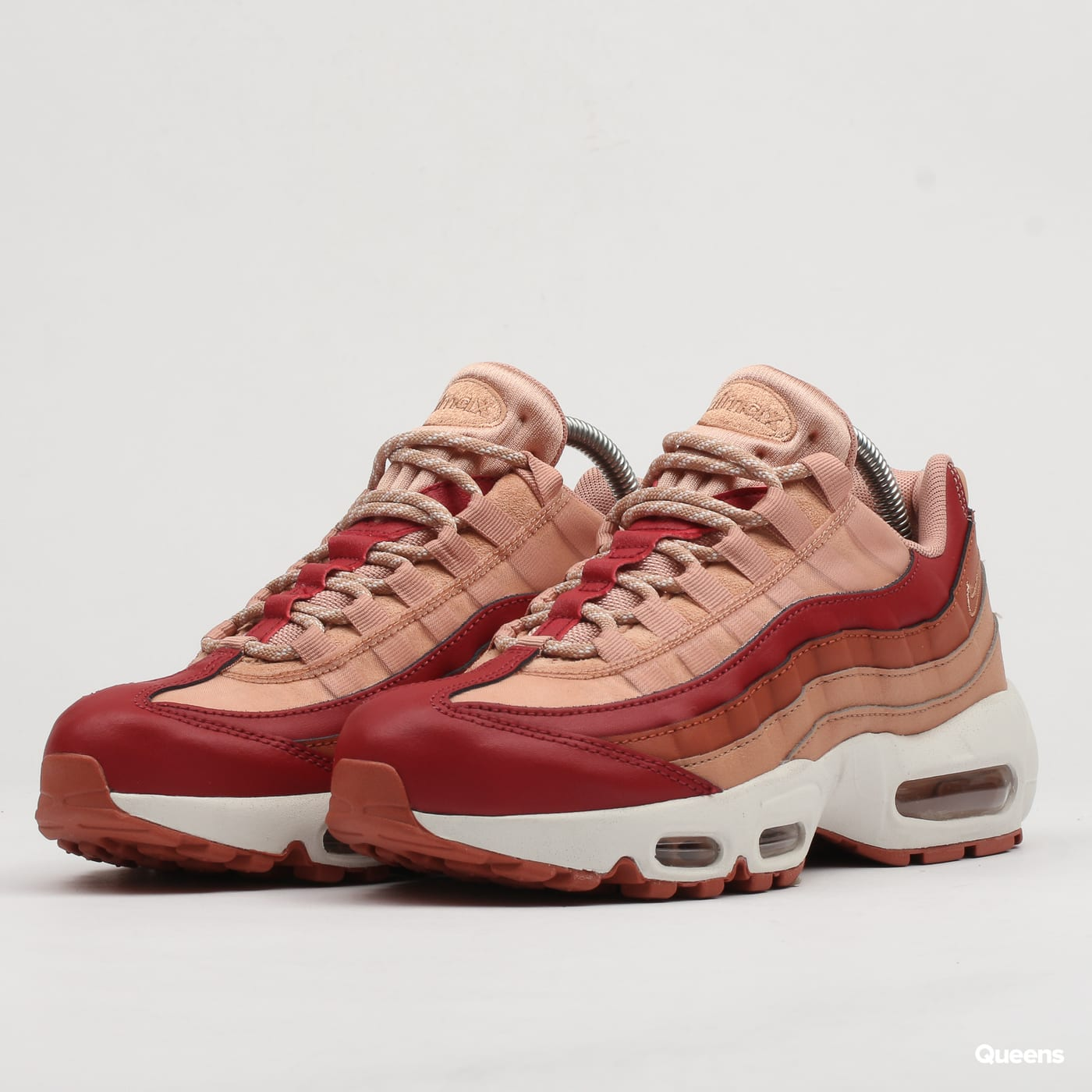 100% authentic d0335 8cd12 Nike WMNS Air Max 95 team crimson / dusty peach