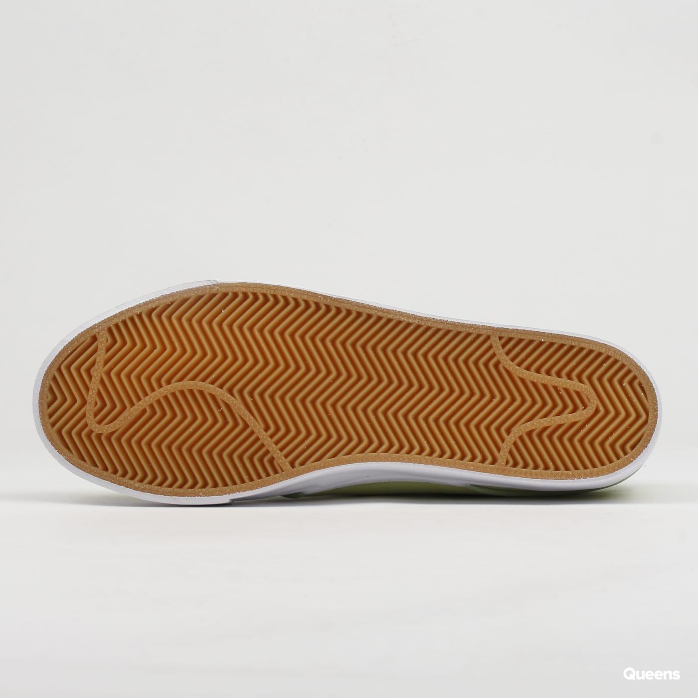 Nike Zoom Stefan Janoski barely volt / barely volt - white