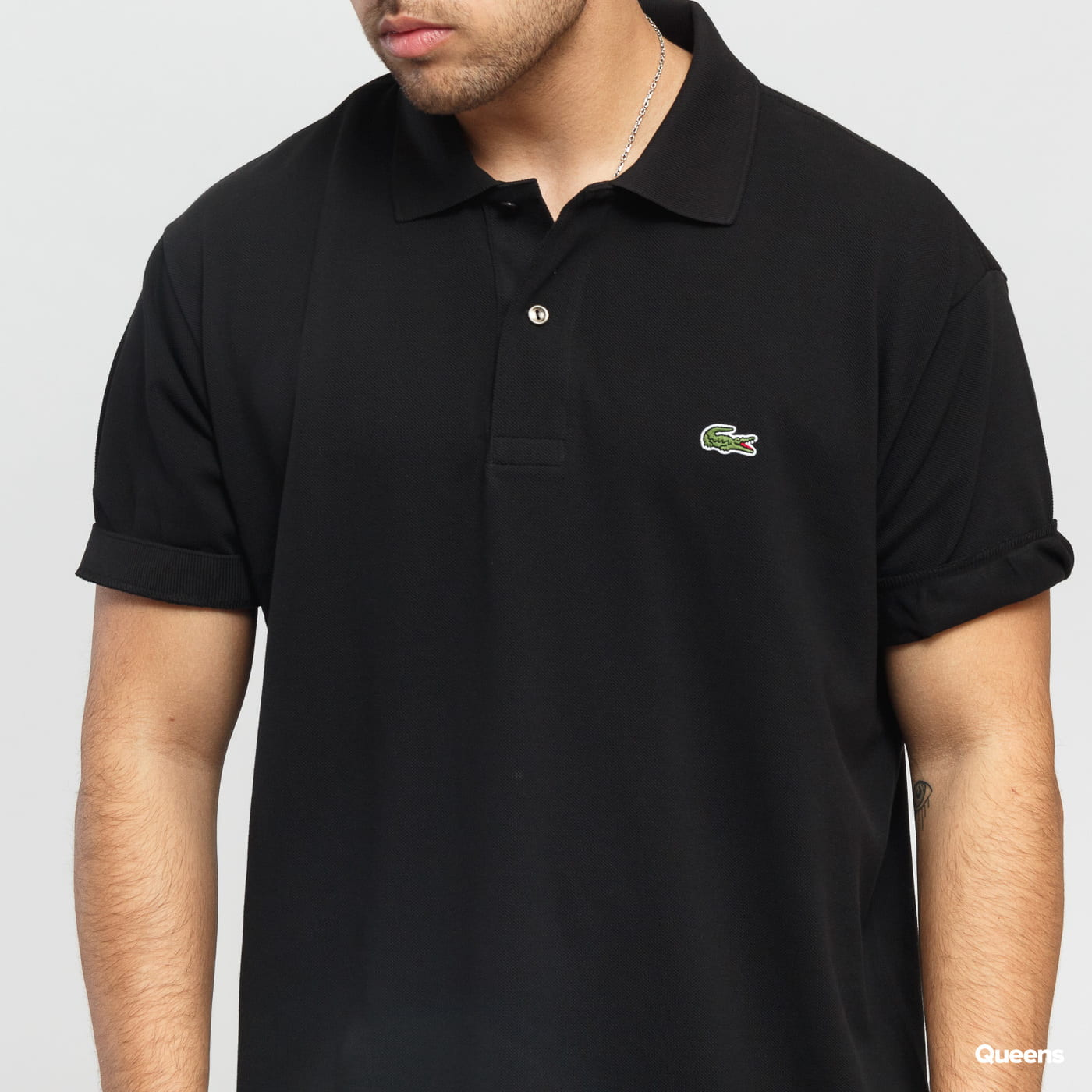 LACOSTE Men's Classic Polo black