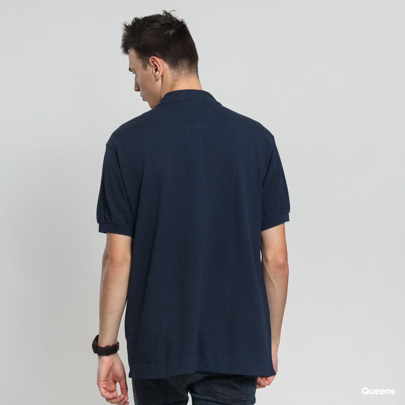 LACOSTE Men's Classic Polo navy