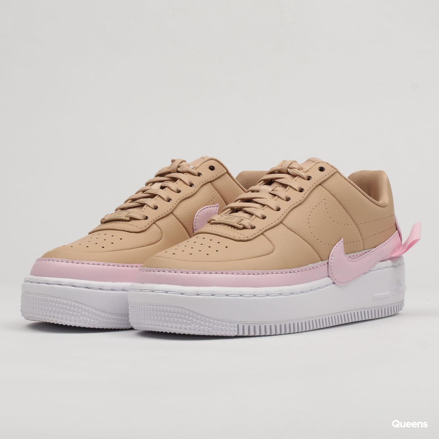 Nike W AF1 Jester XX biio beige / pink force - white