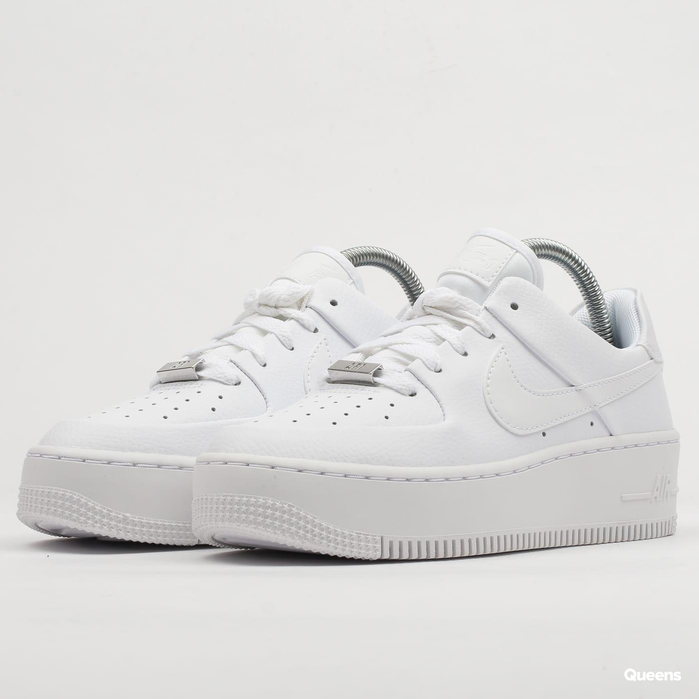 half off e6ad9 508d6 Nike W AF1 Sage Low white / white - white