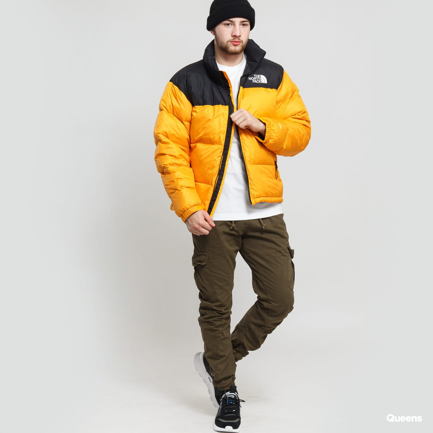 arriving outlet on sale to buy The North Face M 1996 Retro Nuptse Jacket orange / black