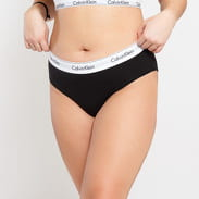 Calvin Klein Bikini - Slip Plus Size C/O černé