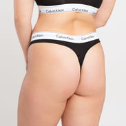 Calvin Klein Thong Modern Cotton Plus Size puma black
