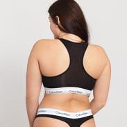 Calvin Klein Unlined Bralette Plus Size C/O čierne