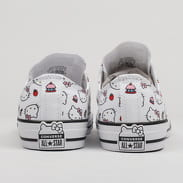 Converse Chuck Taylor All Star OX - Hello Kitty white / fiery red / prism pink