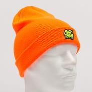 F*CK THEM Beanie neon oranžový