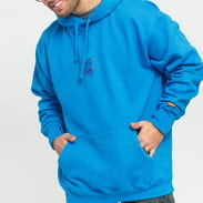 F*CK THEM Winter Hoodie modrá