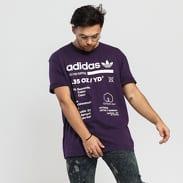 adidas Originals Kaval GRP Tee tmavě fialové