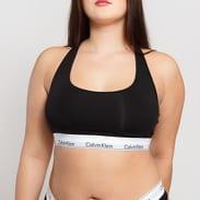 Calvin Klein Unlined Bralette Plus Size C/O černé