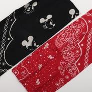 Levi's ® Mickey Mouse Bandana černý / červený / bílý