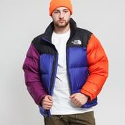 The North Face M 1996 Retro Nuptse Jacket modrá / fialová / oranžová / černá