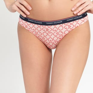 Tommy Hilfiger 3Pack Thong Love Print