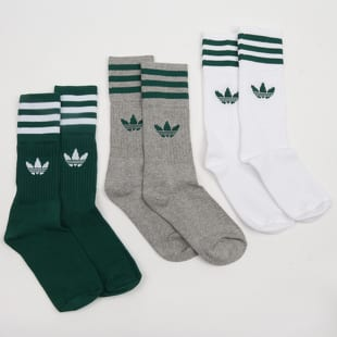 adidas Originals 3Pack Solid Crew Sock