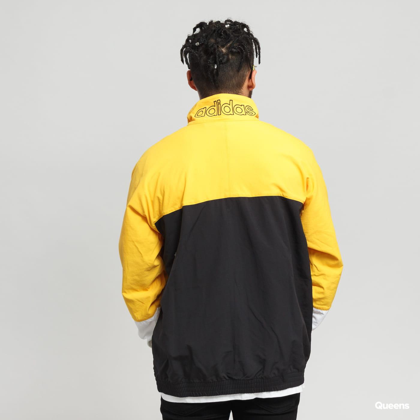 adidas Originals Blocked Warm Up black / yellow