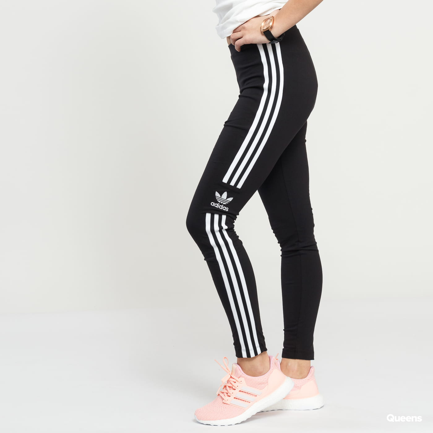 adidas Originals Trefoil Tight čierne