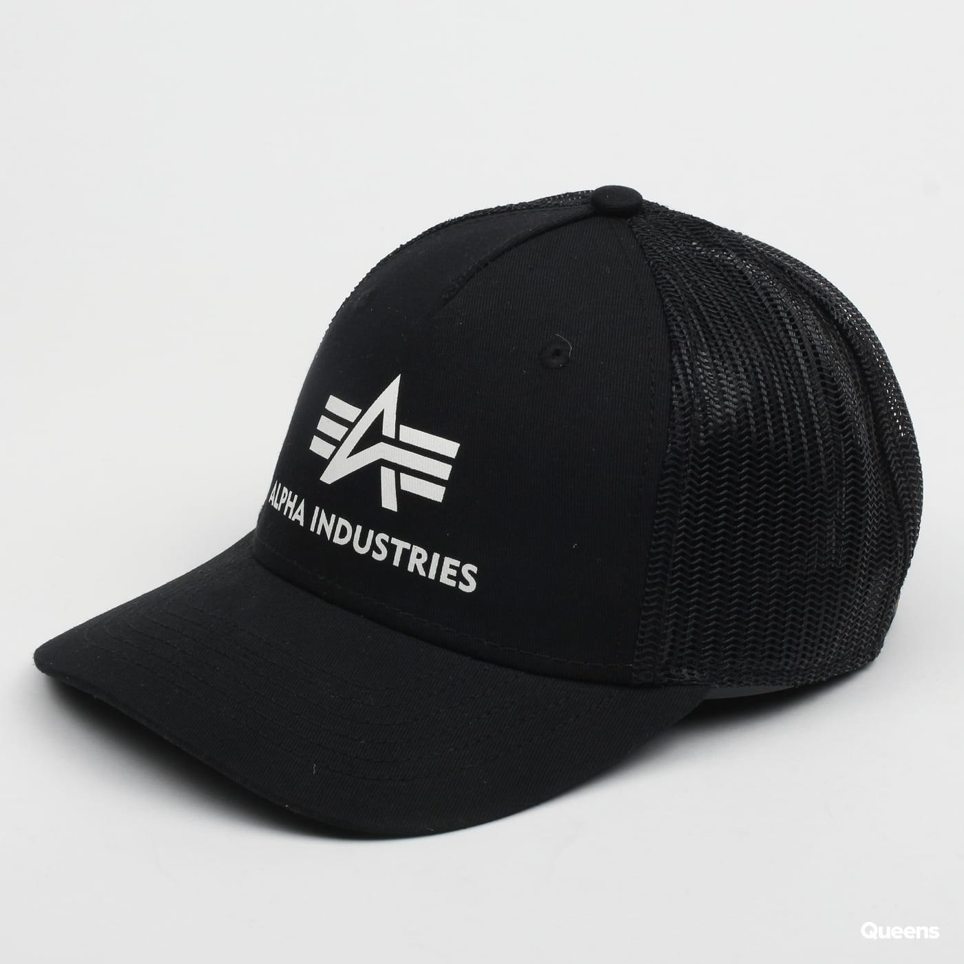 Alpha Industries Basic Trucker Cap čierna