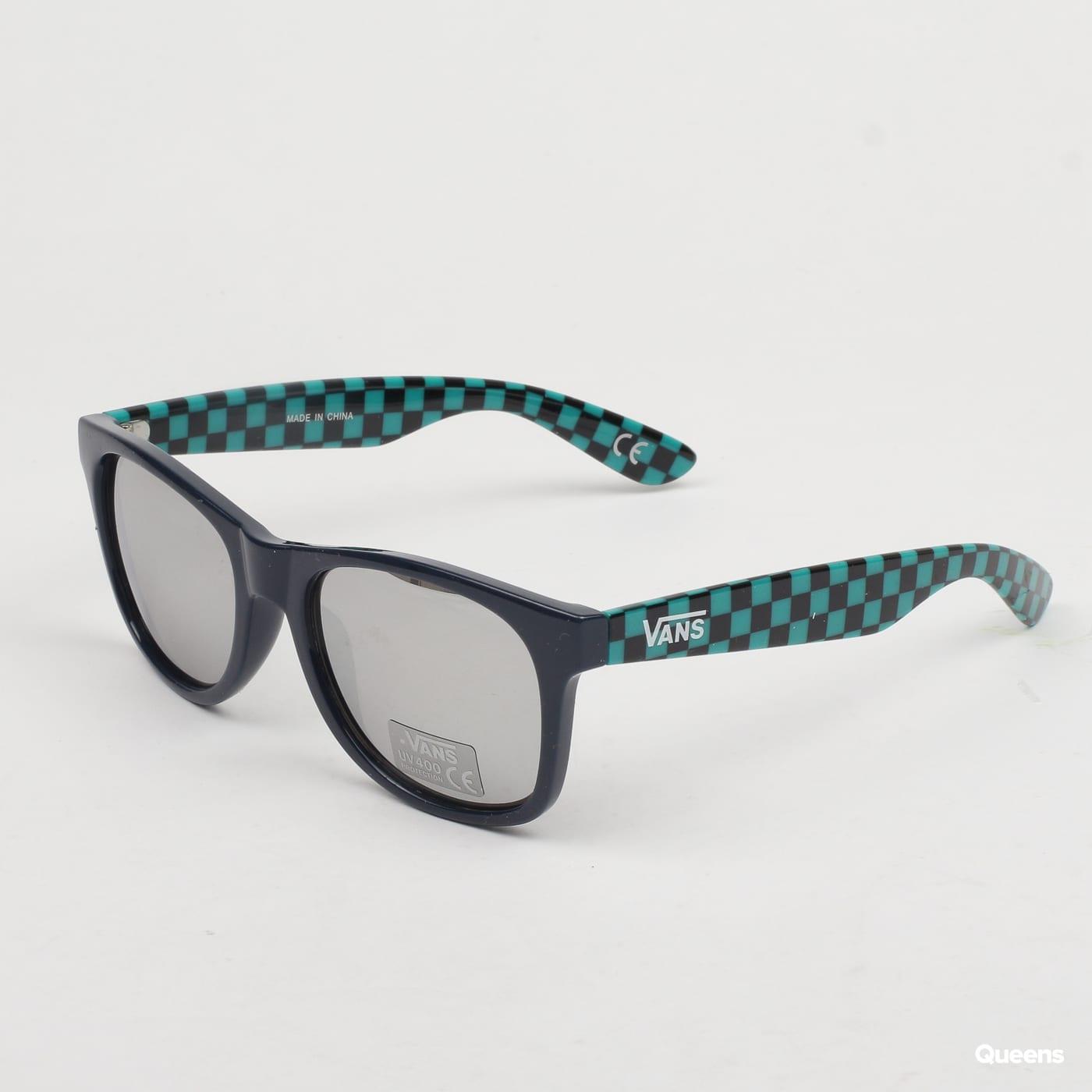 9591db151 Slnečné okuliare Vans MN Spicoli 4 Shade strieborné / čierne / tyrkysové  (VN000LC0TDK1) – Queens 💚