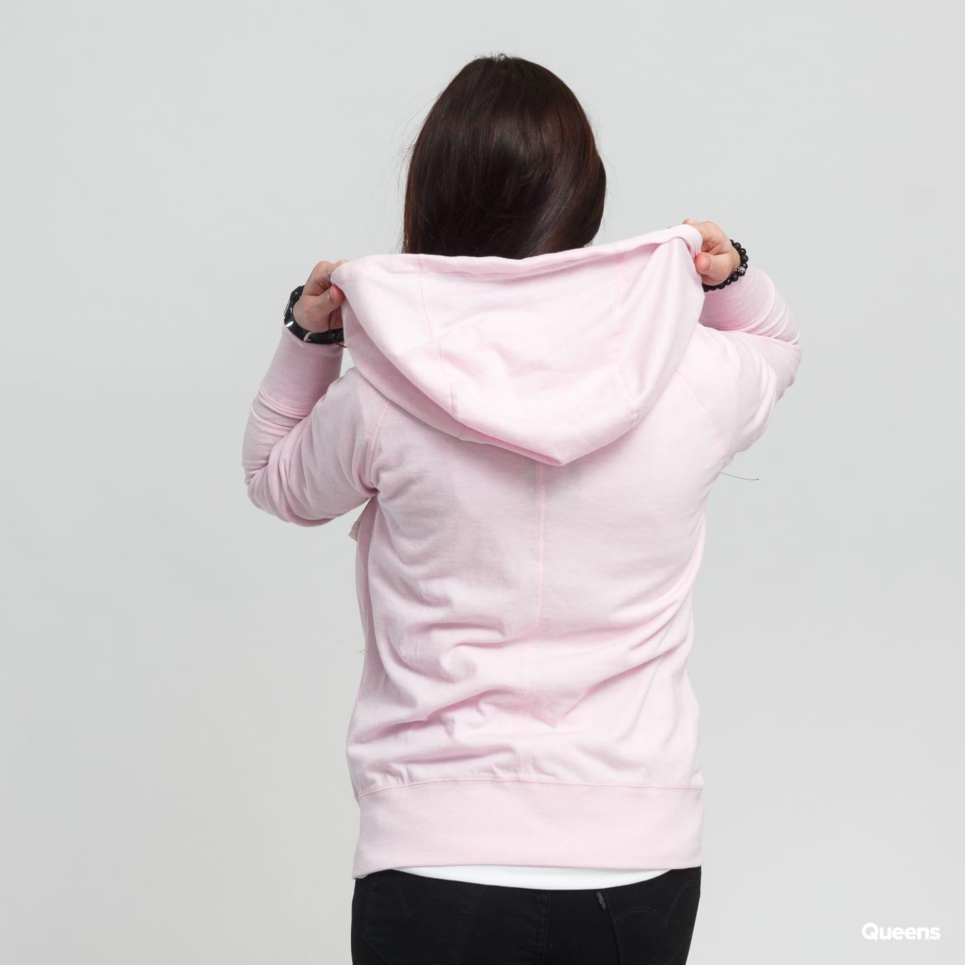 ZvětšitZvětšitZvětšit. Nike W NSW Gym Vintage Hoodie FZ melange světle  růžová f23ac83d3b8