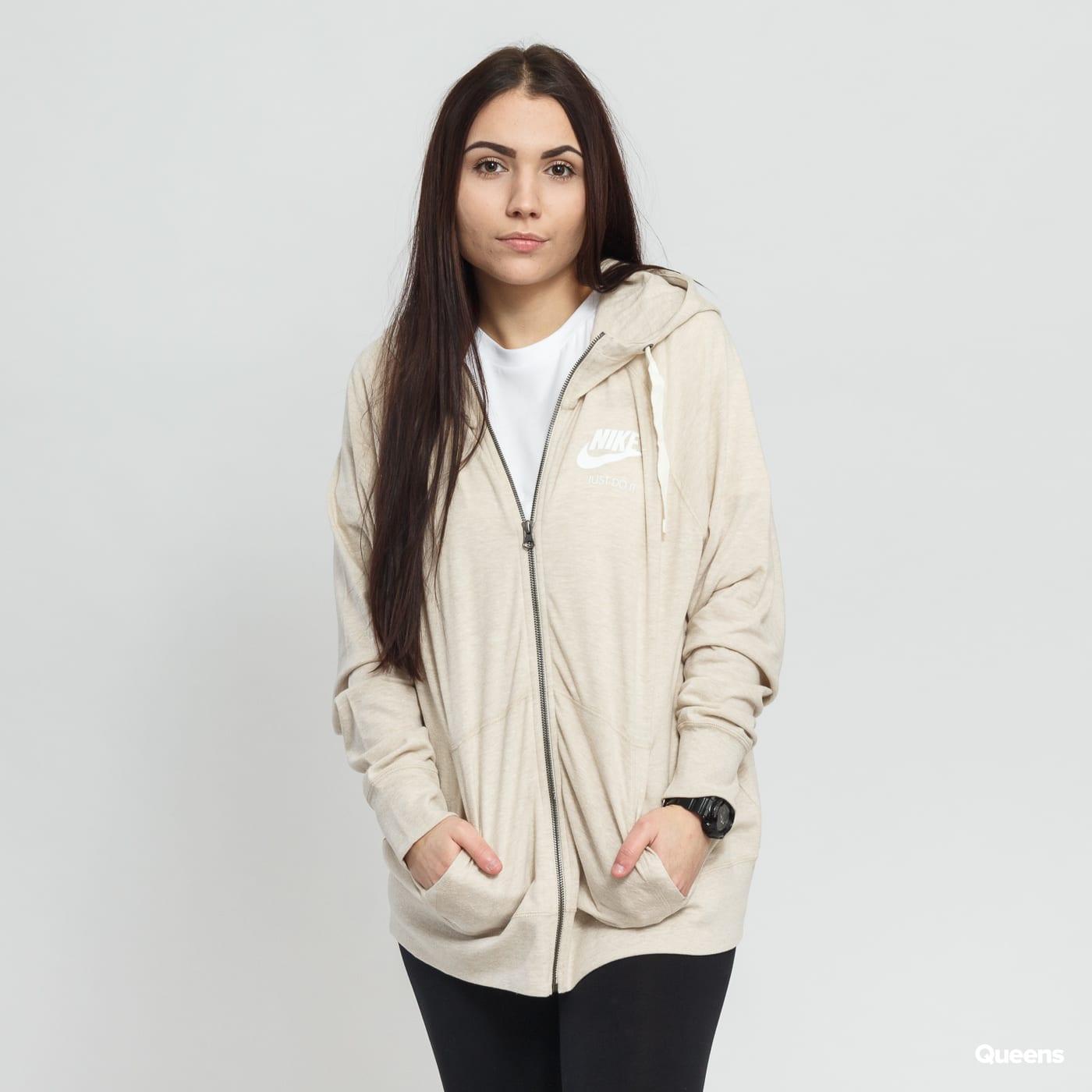 Women Sweatshirt   Hoodie Nike W NSW Gym Vintage Hoodie FZ (AR1203-140)–  Queens 💚 b48fcf70d01