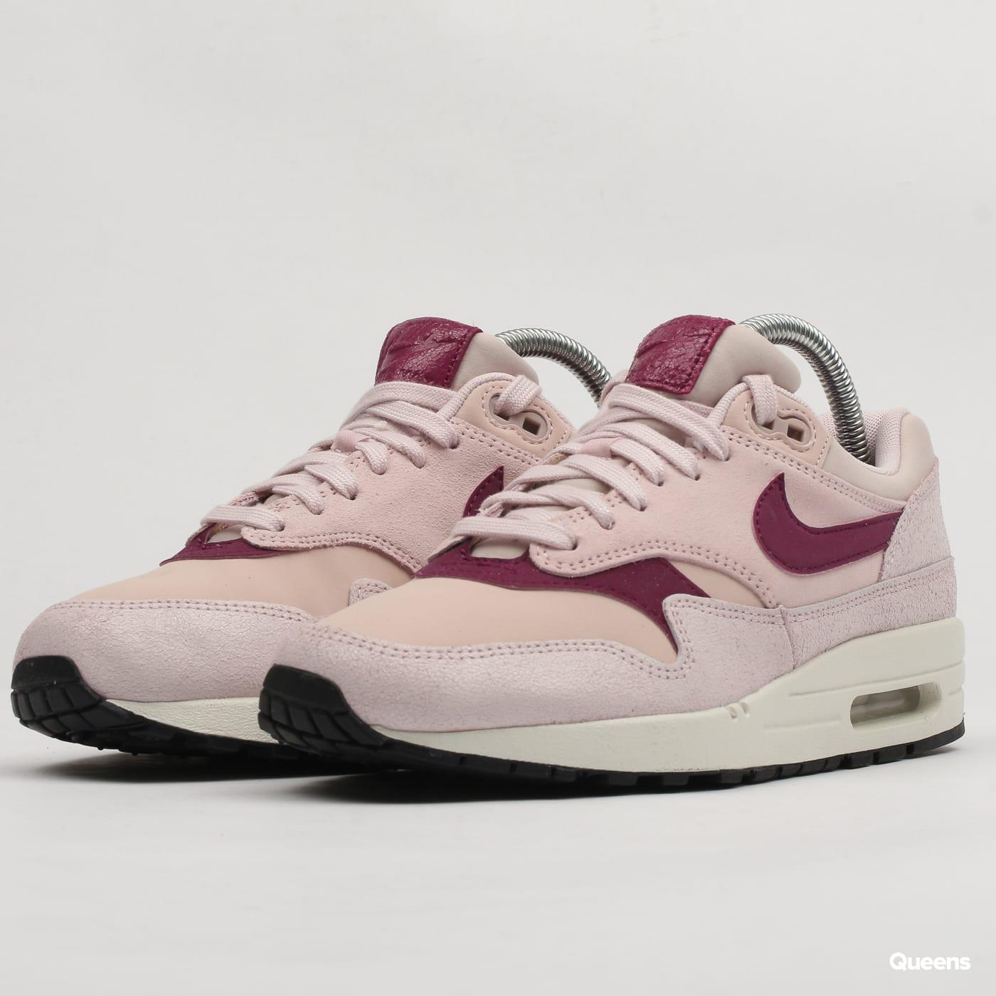 Nike Air Max 1 Premium Pink Women's   454746 604
