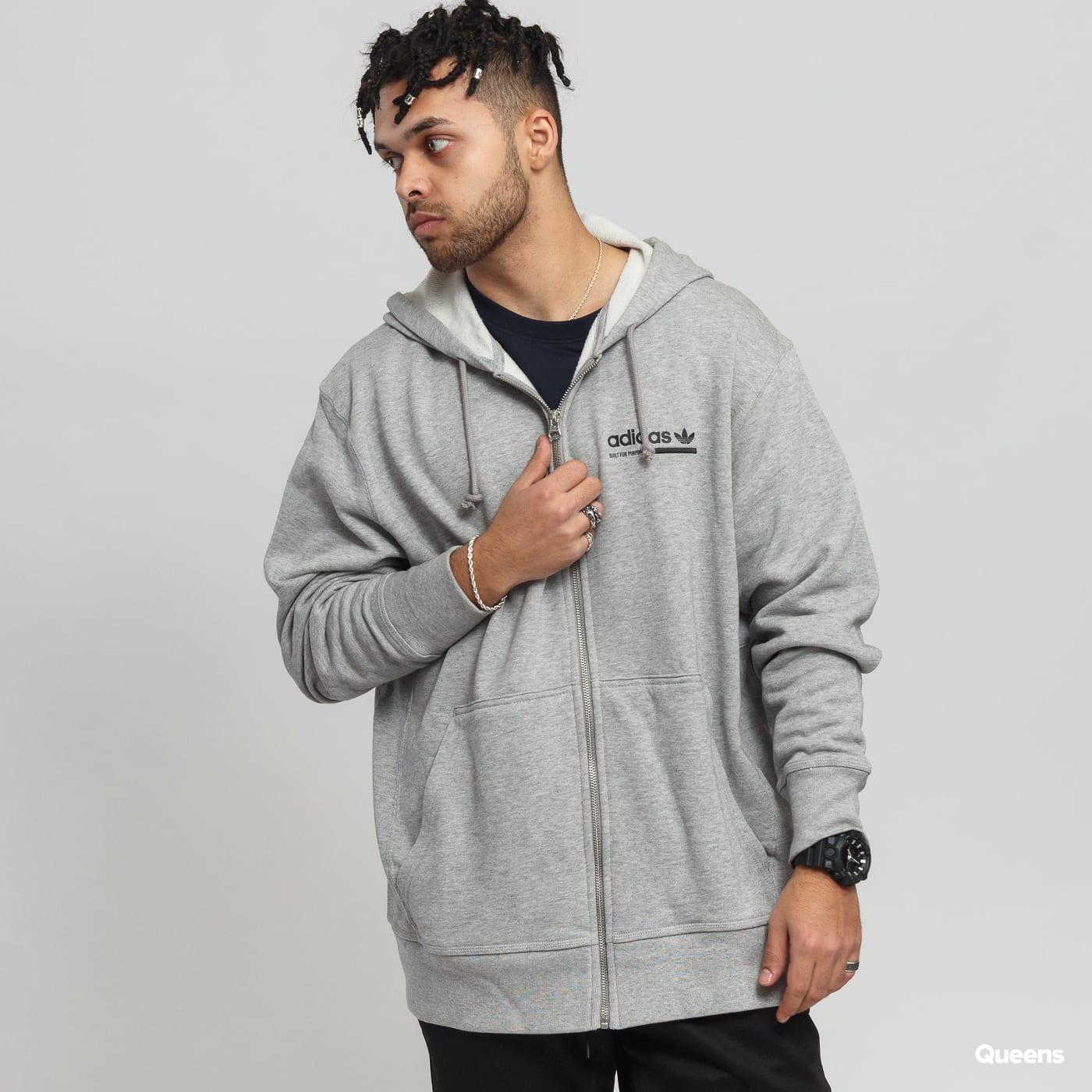 Mikina adidas Originals Full Zip Hoody (DV1919) – Queens 💚 58de629b34