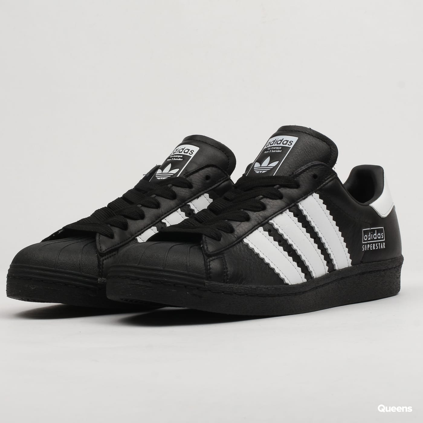 adidas Originals Superstar 80s cblack ftwwht cblack