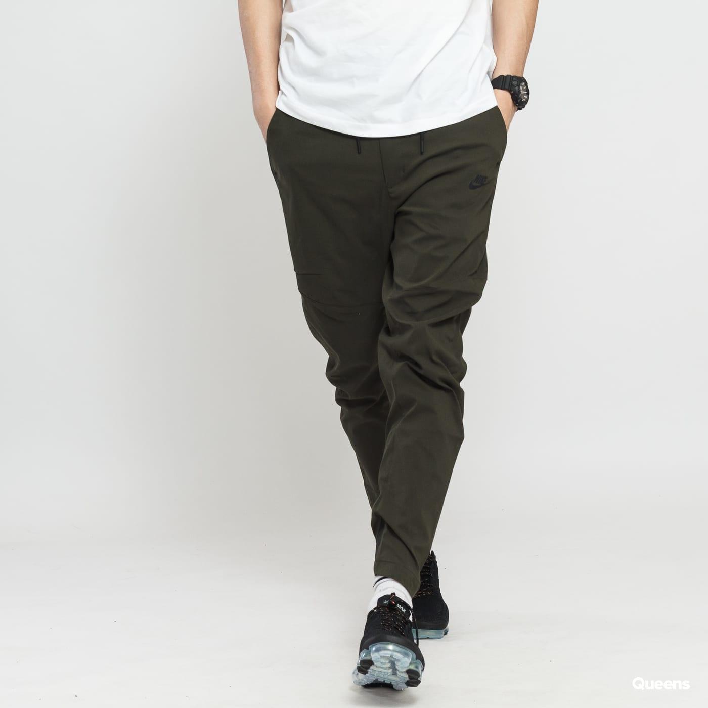 Nike M NSW PE Pant Woven Tech Strt dark olive