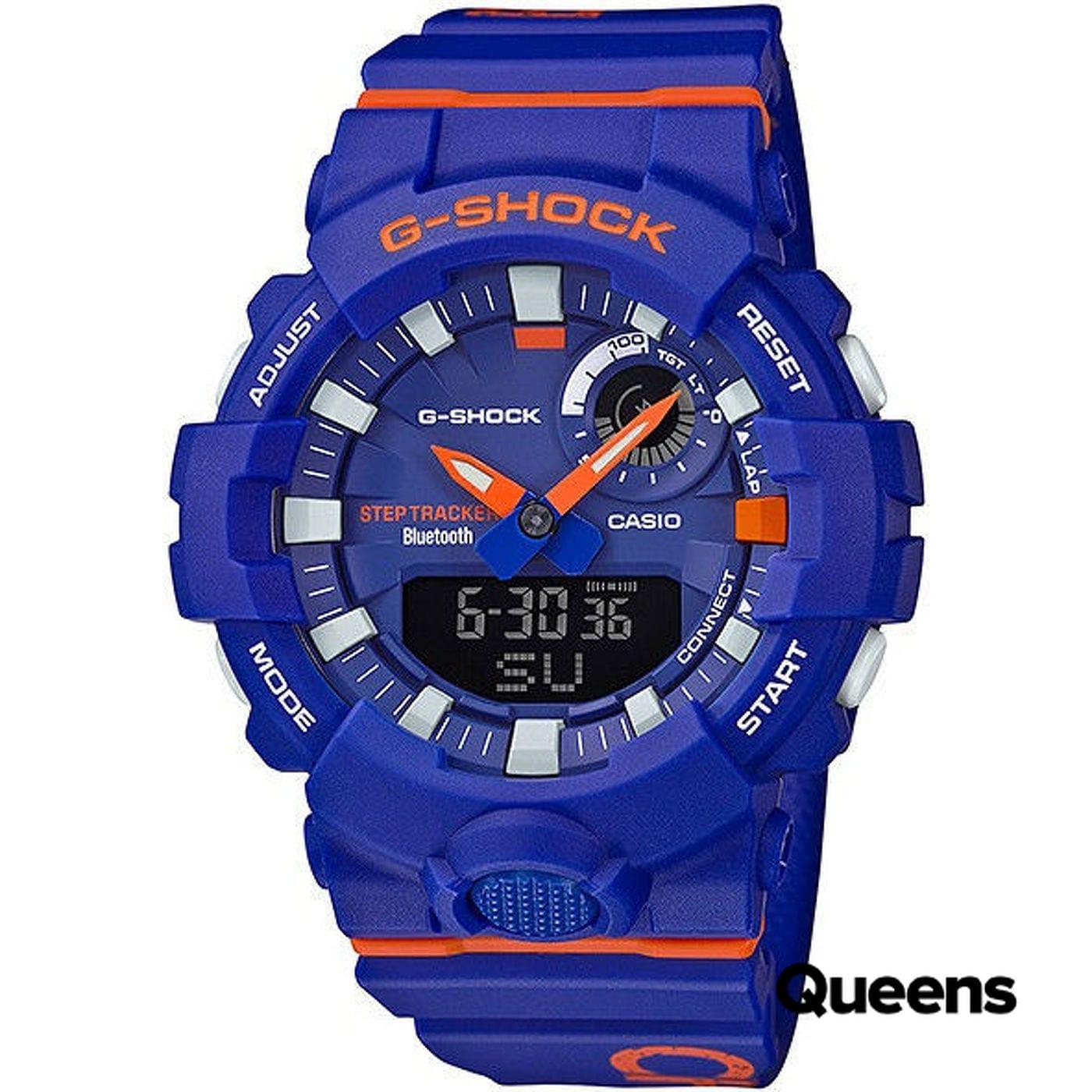 "Casio G-Shock GBA 800DG-2AER ""Basketball Series"" modré"