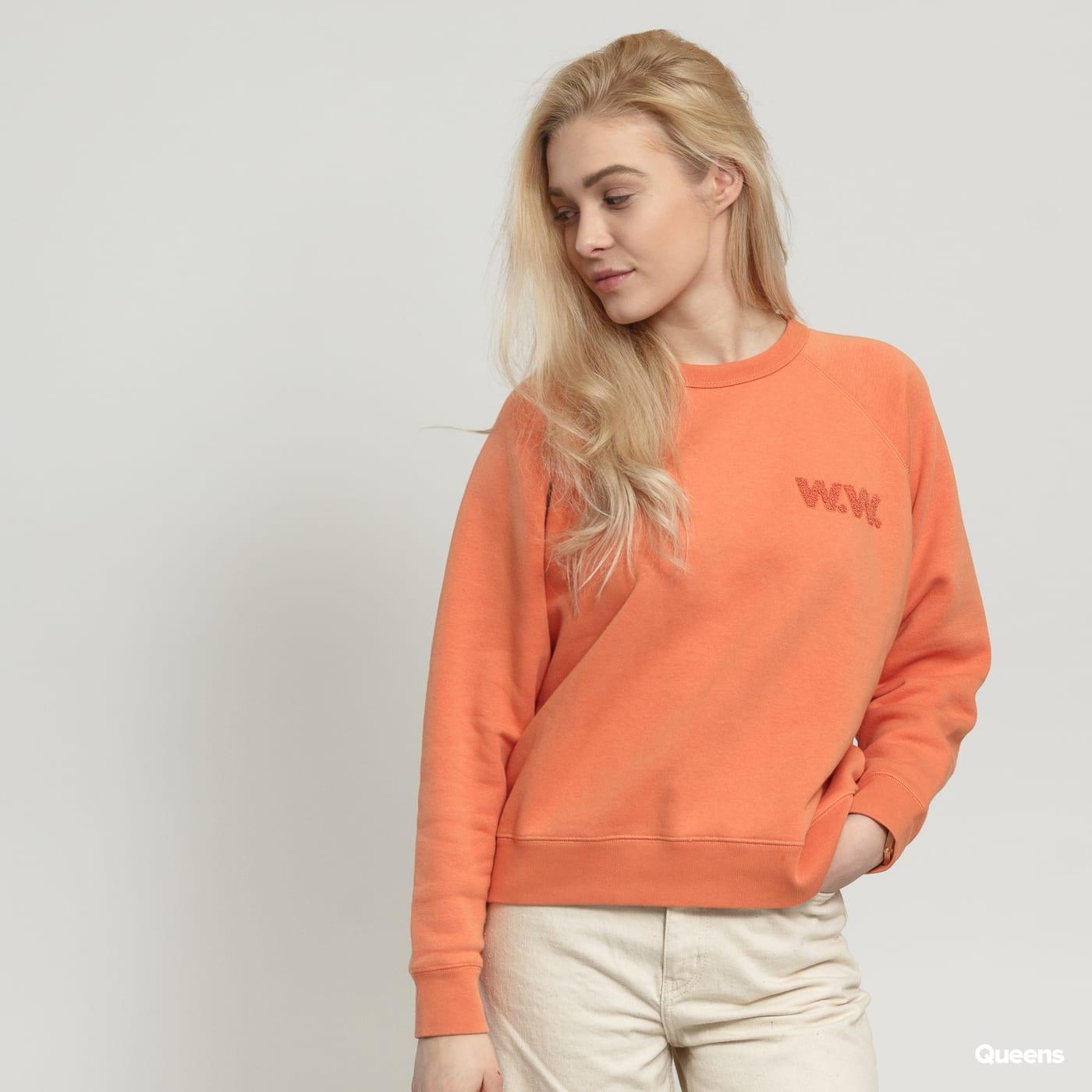 WOOD WOOD Jerri Sweatshirt oranžová
