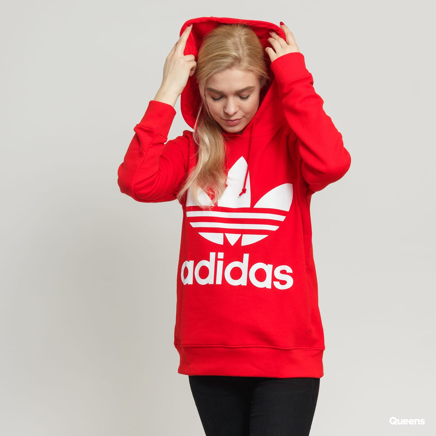 bdcba09aedd Dámská mikina adidas Originals Trefoil Hoodie (FH8563) – Queens 💚