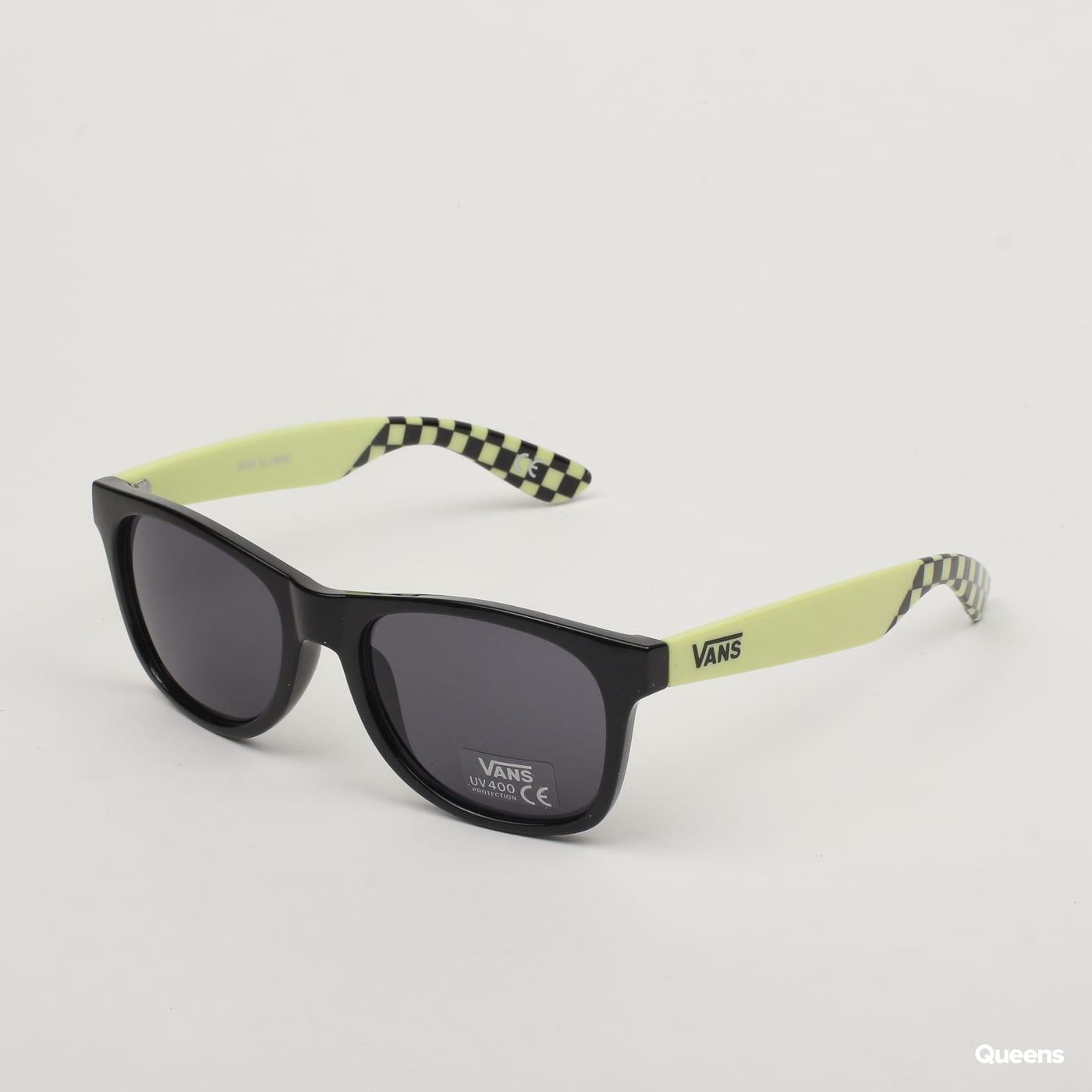 9ad973b2e Slnečné okuliare Vans Spicoli 4 Shades čierne / svetložlté (VN000LC0TD1) –  Queens 💚