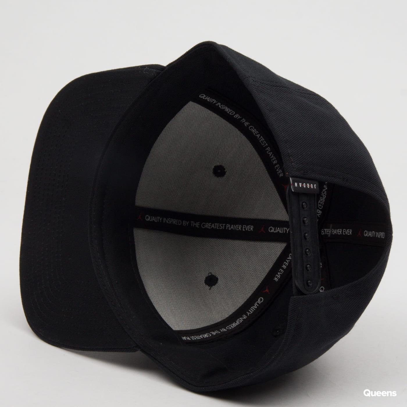 Jordan Pro Jumpman Snapback čierna / biela
