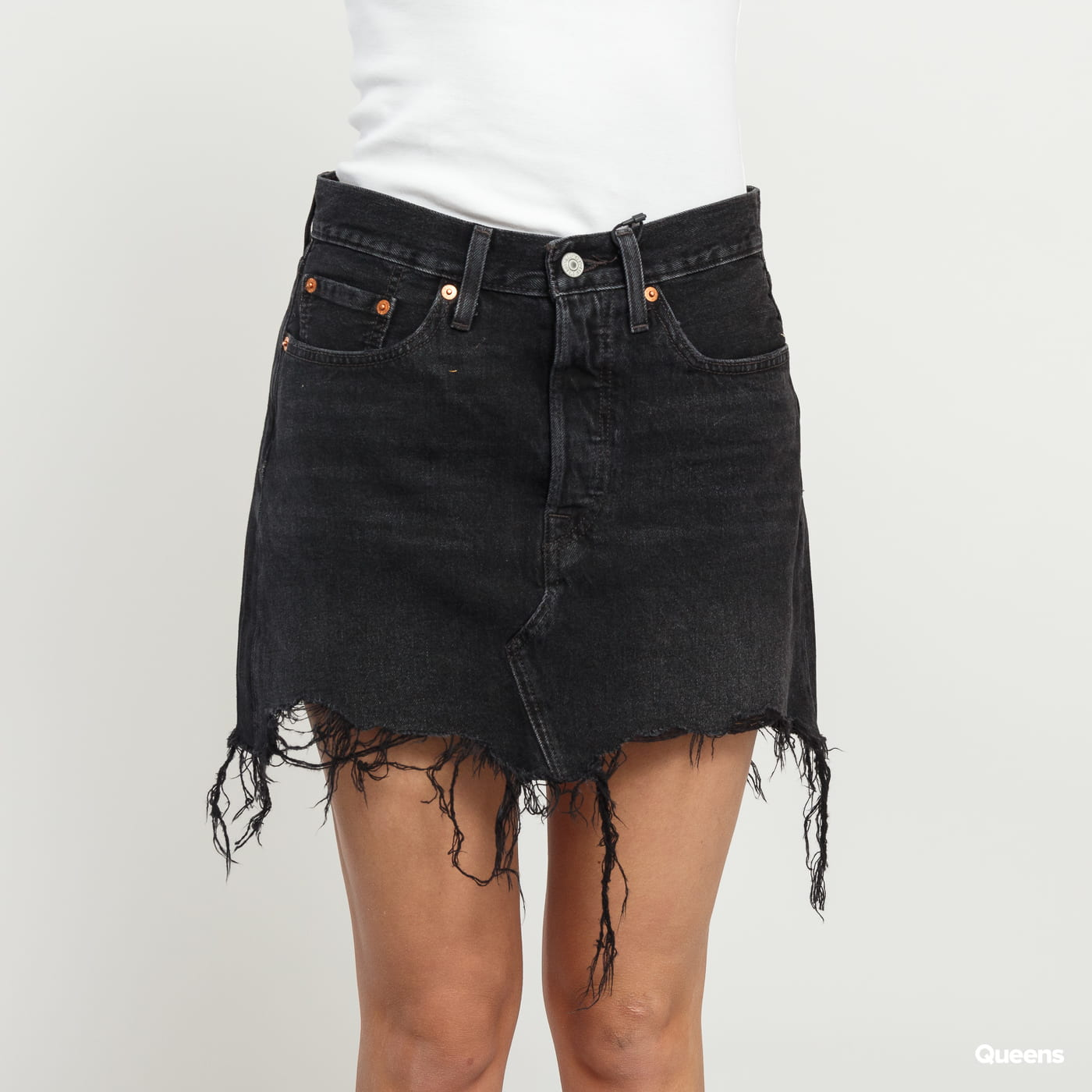 a34b0deef ... Women fashion · Hats · All · Our Stores. Zoom in Zoom in Zoom in Zoom  in. Levi's ® Deconstructed Skirt ill fated