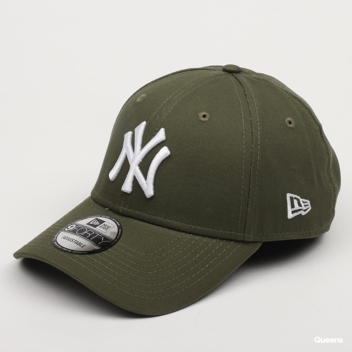 New Era 940 MLB League Essential NY C/O olive
