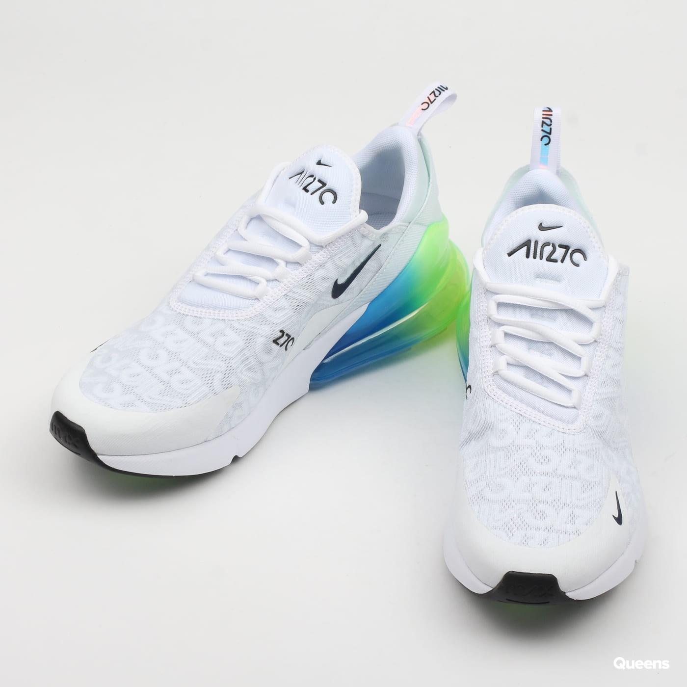 Nike Air Max 270 SE white / white - lime blast