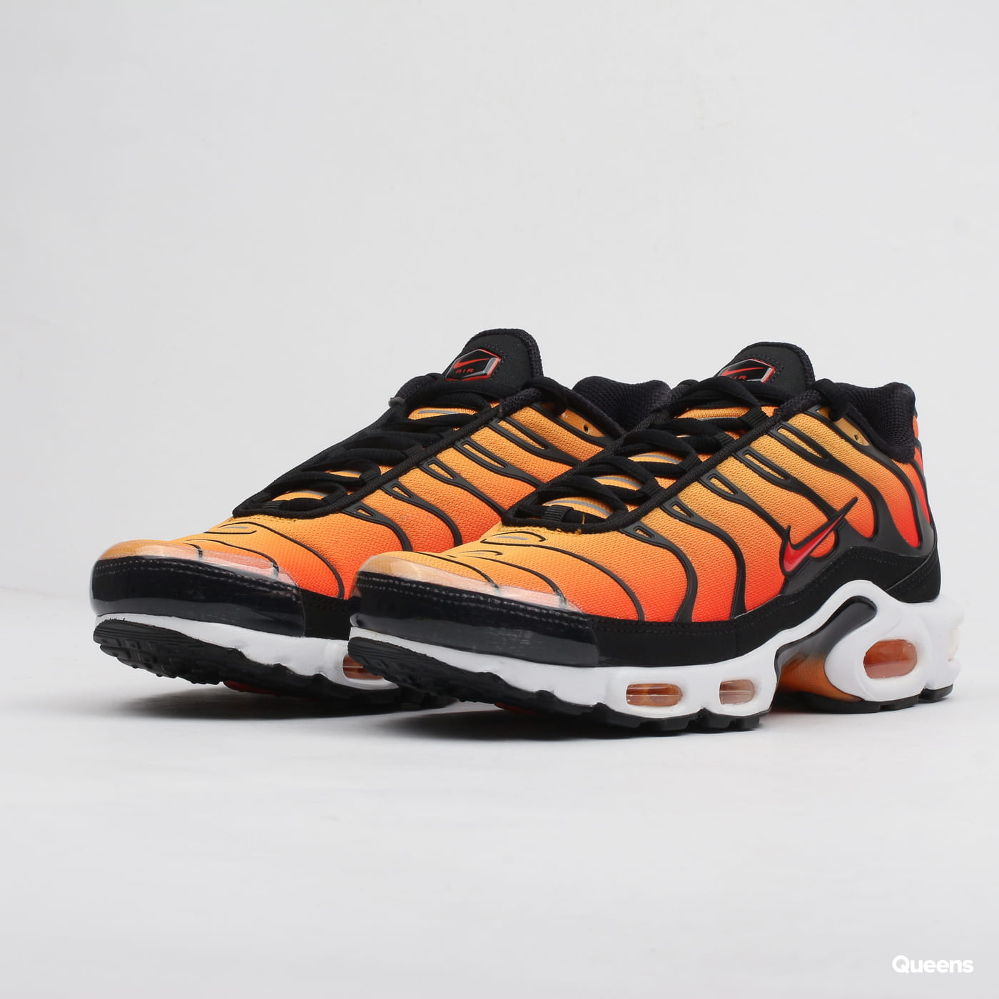 Nike AIR MAX PLUS Sort Hvid 852630 Rezet Store