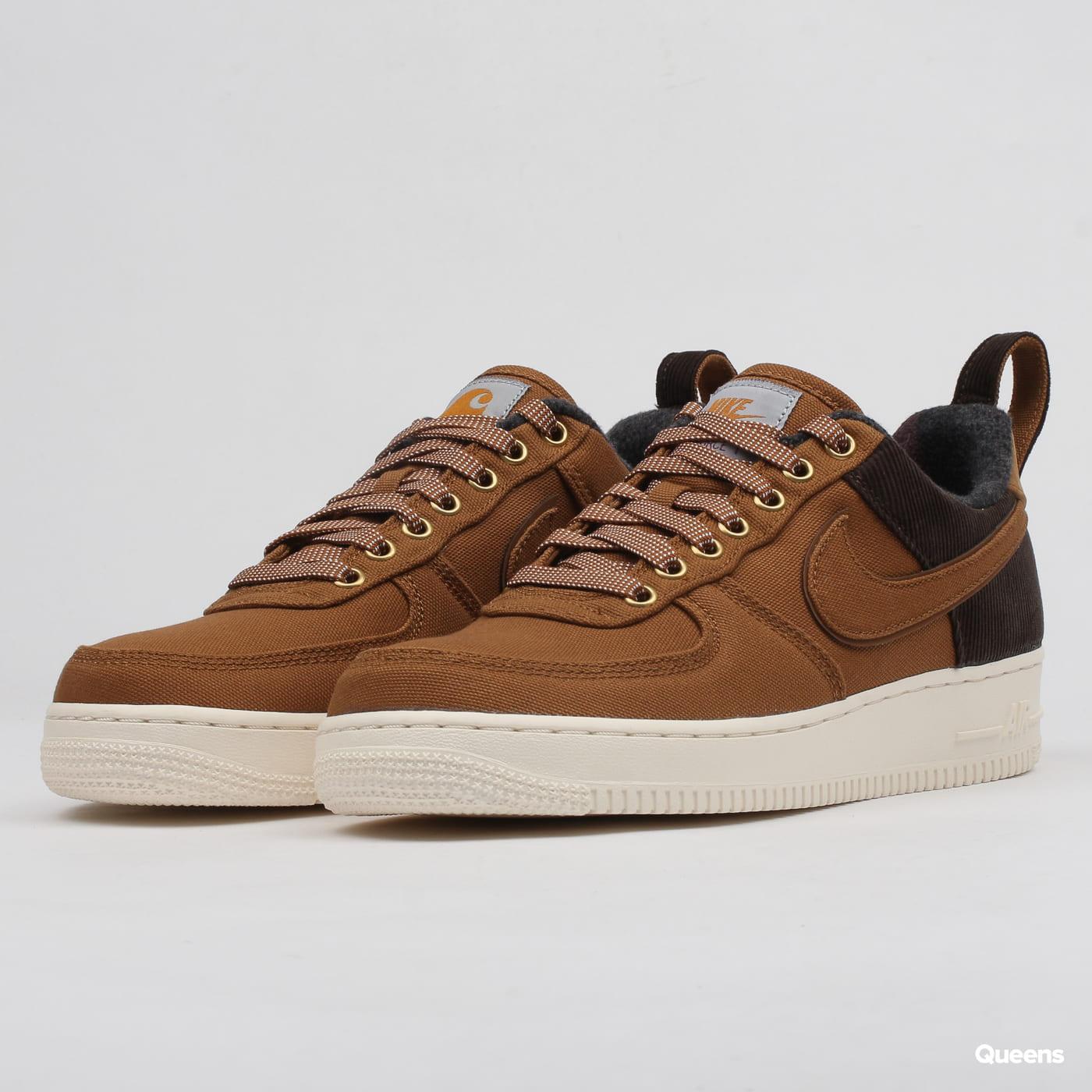 buy popular 2364f 1edd0 Nike Carhartt x Nike Air Force 1 ale brown / ale brown - sail
