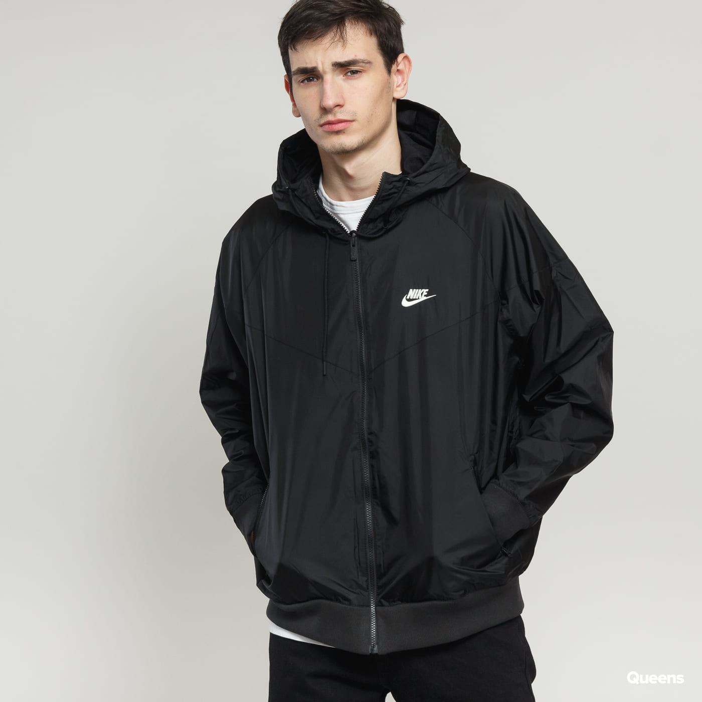 Nike M NSW HE WR Jacket HD čierna