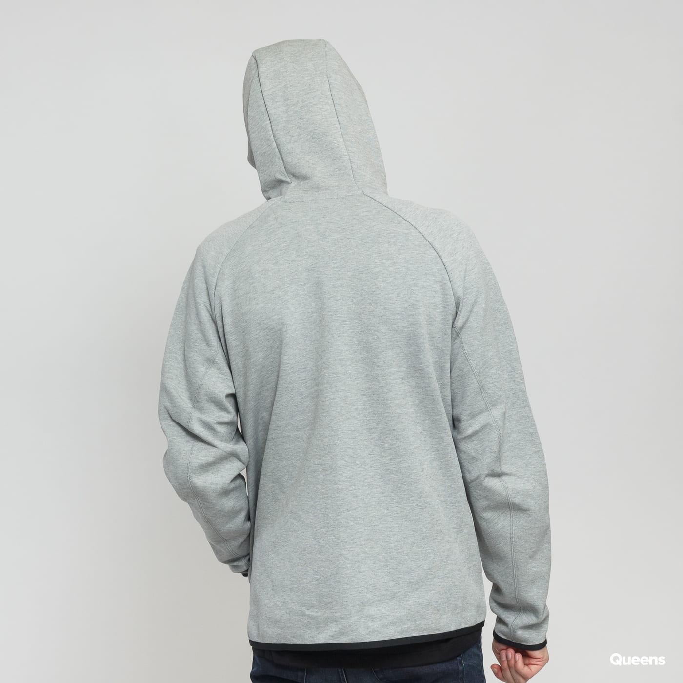 Nike M NSW Tech Fleece Hoodie FZ šedá