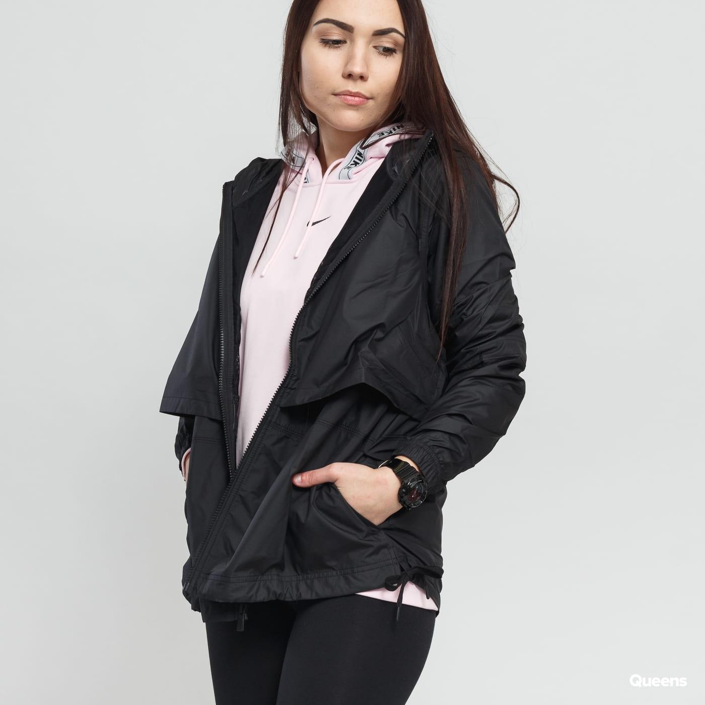 Nike W NSW Jacket Woven čierna