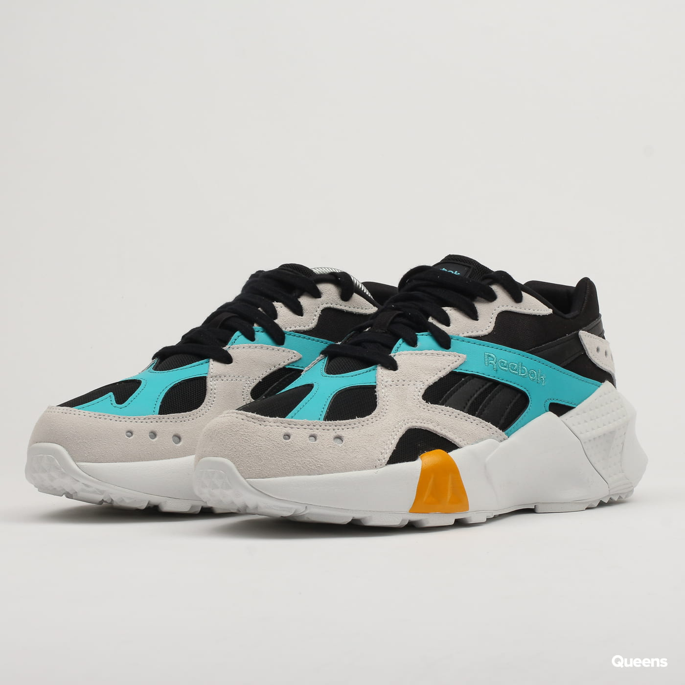 Reebok Aztrek Double 93 black / blue / grey / gold