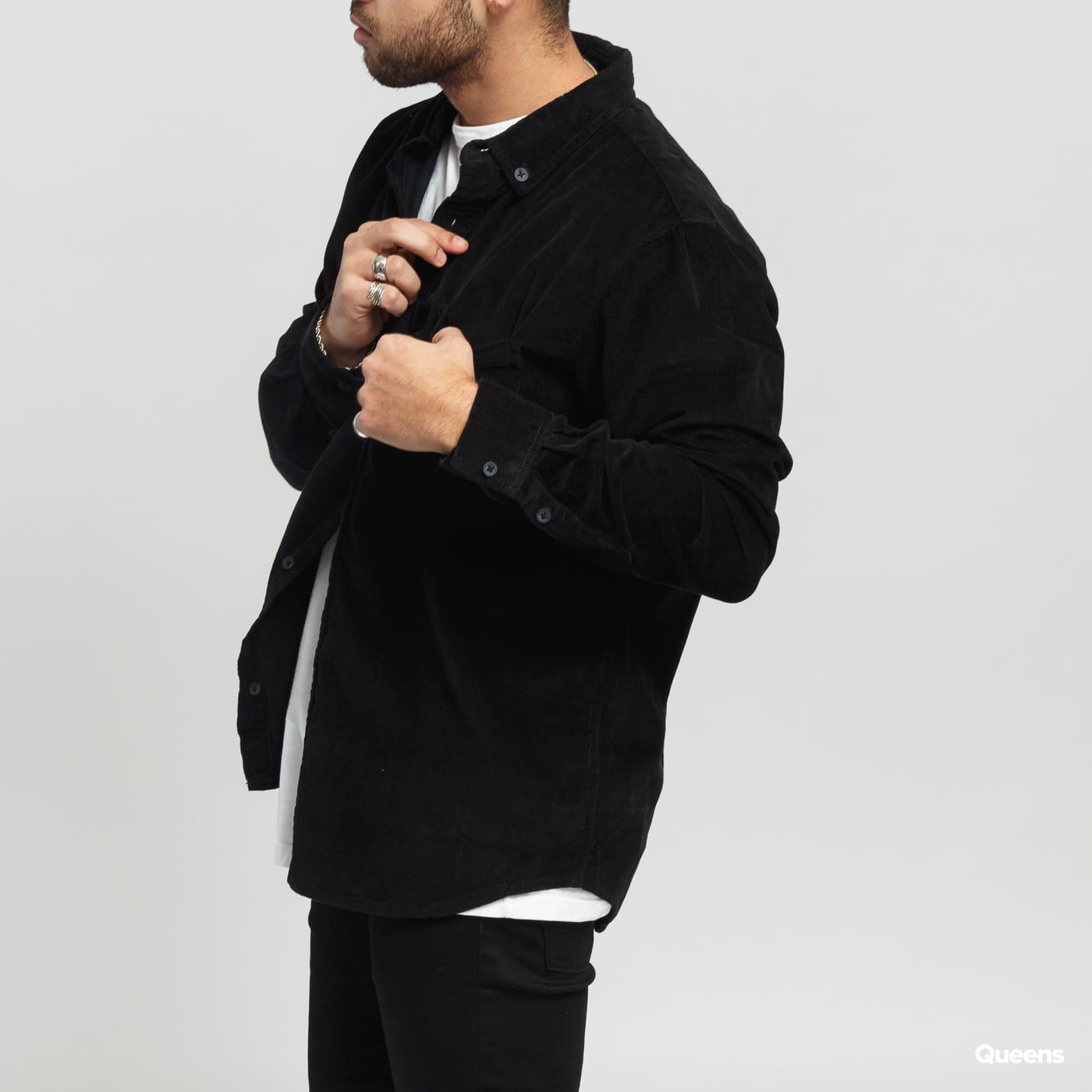Urban Classics Corduroy Shirt schwarz