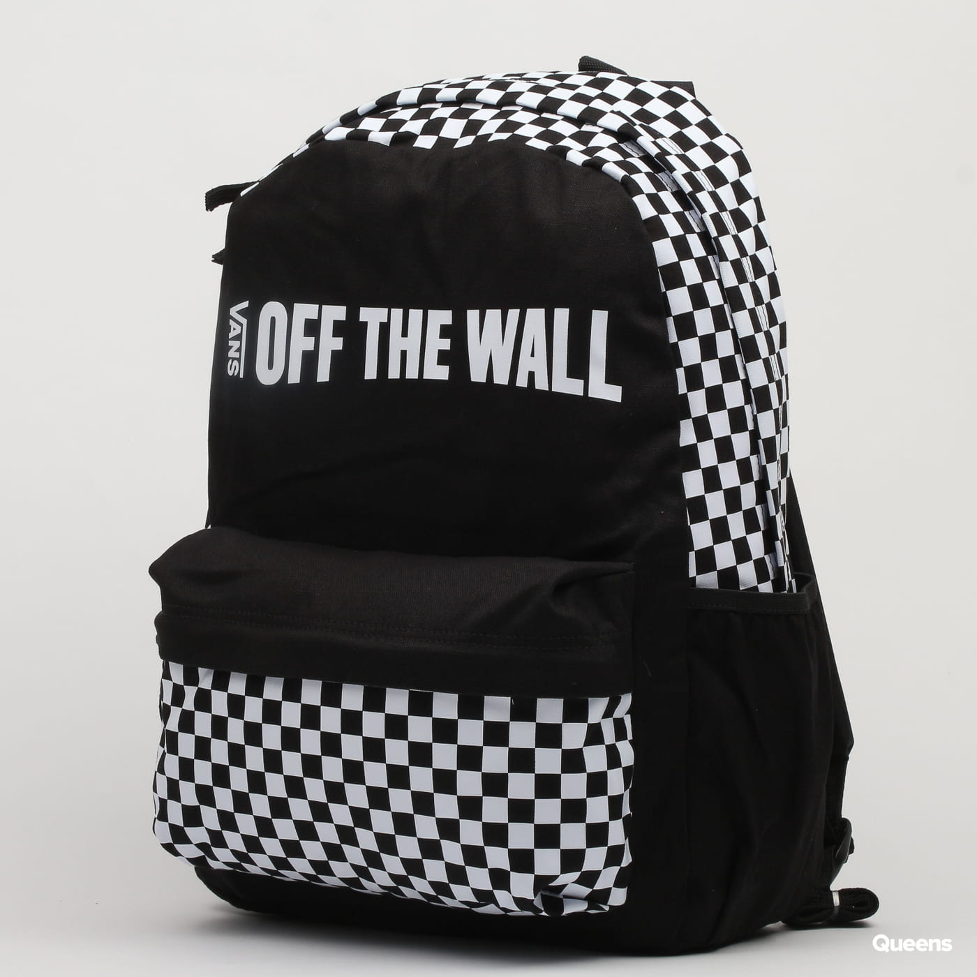 cca2f8b49a9c3 Backpack Vans Central Realm Backpack black   white (VN0A3UQSBLK) – Queens 💚